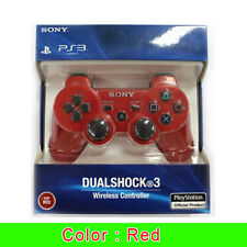 Sony PS3 Playstation 3 DUALSHOCK 3 Wireless Bluetooth SIXAXIS Controller -RED