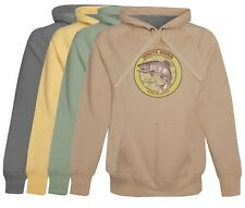 White River Trout Fishing Hoodie fleece softest cotton Mens Fishing Gift