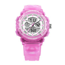 Women Student's Sports Multi Function Plastic Band Watches Digital Wrist Watch