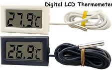 NEW LCD Digital Thermometer for Fridge/Freezer/Aquarium/FISH TANK Temperature GB