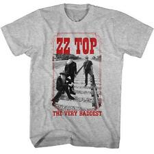 THE VERY BADDEST ZZ Top Classic Rock Band Licensed Concert TOUR ADULT T-Shirt