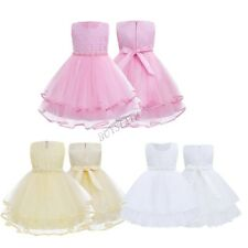 Girl Flower Princess Sleeveless Wedding Occasion Bridesmaids' Formal Dresses