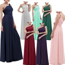 LADY *Long Formal Evening PROM Party Dress Bridesmaid Dresses Ball Gown Cocktail
