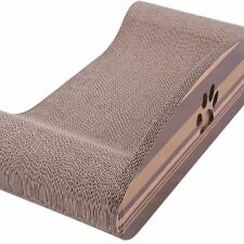 Cat Kitty Corrugated Paper Scratcher board Lounge Couch Cat Grinding Claws Sofa