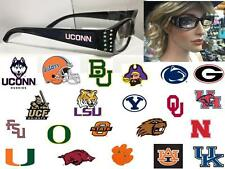 NCAA Team Reading Glasses Ladies College Power Magnification 1 1.5 1.75 2 2.5 3