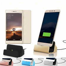 Micro USB Desktop Charger Stand Dock Station Sync Charge Cradle For Smartphone
