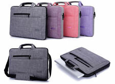 """Simply Fabric Notebook Shoulder Bag  14"""" 15""""  Laptop PC Messenger Carrying Case"""