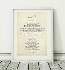 370 Hozier - Jackie And Wilson - Song Lyric Art Poster Print - Sizes A4 A3