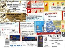 EUROPA LEAGUE TICKETS_2012 - 2014 ! From 1,00 GBP.... Updated July 2017 !