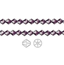 Swarovski Crystal Beads 5328 Xilion Bicone 4mm Package of 48