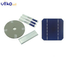 125MM Monocrystalline Solar Cell 5x5 With Bus Tabbing Wire For DIY Solar Panel