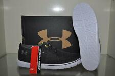 Under Armour Street Encounter II Mens Casual Shoes 1266209 001 Black/Yellow NWT