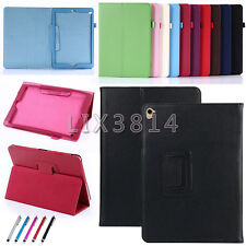 Ultrathin PU Leather Flip Folio Book Case Cover Stand For iPad Mini/Air/Pro/New