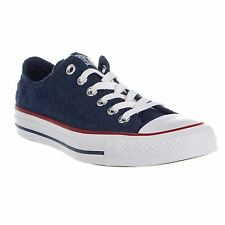 Converse Chuck Taylor All Star Ox Navy Garnet Womens Canvas Trainers Sneakers