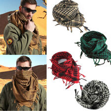 Unisex Military Tactical Arab Shemagh KeffIyeh Shawl Scarves Scarf US Location