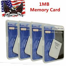 200 LOT 1 MB Memory Card For Playstation 1 PS1 PSX Game (factory sealed) USA BB