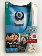 NEW LOGITECH QUICKCAM CHAT WITH HEADSET