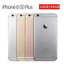 Apple iPhone 6+ Plus-16GB 64GB GSM Factory Unlocked Smartphone Gold Gray Silver0