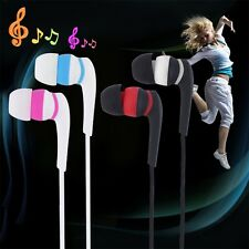 3.5mm In-ear Stereo Earbuds Headphone Earphone Headset Without MIC For Phones TE