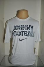 Nike Dri Fit Johnny Football Mens T-Shirt 716401 100 White NWT See Sizes 🔥🔥🔥