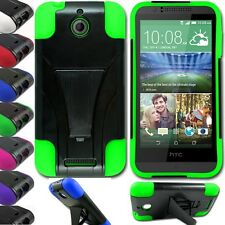 Shockproof Heavy Duty Rugged Rubber Defender Kick Stand Case Cover USA SELLER
