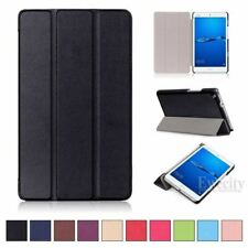 Ultra Slim Leather Tri-Fold Stand Smart Case Cover For Huawei MediaPad M2 M3