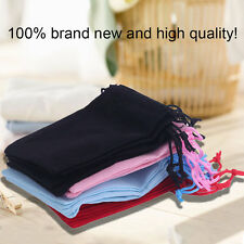 20pcs Gift Bag Jewelry Display 5x7cm Velvet Bag/jewelry Bag/organza Pouch BE