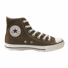 New Converse Chuck Taylor All Star Hi Top Brown Trainers Shoes Sneakers 210626