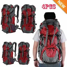 4X 70L Waterproof Outdoor Camping Travel Hiking Bag Internal Frame Backpack Pack