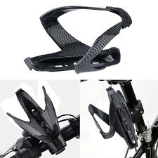 Outdoor Cycling Bicycle Carbon Fiber Water Bottle Drinks Holder Cages Rack HotTE