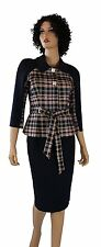 BELTED WOMENS BUSINESS SUIT- BONA VITA Dress Skirt Suit, Special Occasions, Work