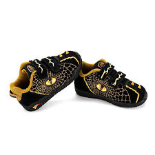Dinosoles 3D Double Eye Low Top Boy Dinosaur's Fashion Footwear Shoe Black