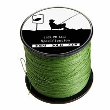 Army Green Spectra PE Dyneema Extreme Braid Fishing Line 4 Strands 300/500/1000M