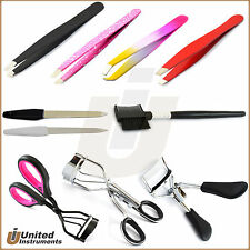 Eyebrow Hair Remover Tweezers Beauty Curler Nail File Cosmetic Make Up Tools New