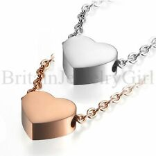 Fashion Women's Tiny Love Heart Necklace Delicate Dainty Pendant Chain for Girls