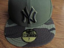 New York Yankees New Era 2017 Memorial Day 59FIFTY Fitted Hat - Green