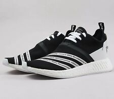 Adidas NMD R2 PK WM CG3648 Black White Mountaineering Boost Primeknit Shoes NIB