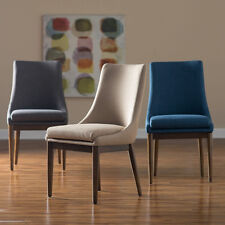 2 Piece Polyester Upholstered Dining Chair Set Home Kitchen Seating Furniture