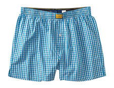 aeropostale mens prince & fox gingham woven boxer shorts underwear