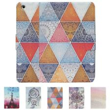 Fashion Magentic Card PU Leather Smart Stand Case Cover for Apple iPad 2 3 4