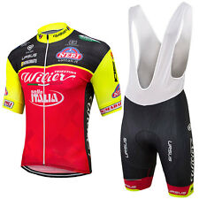 Wilier 2017 Pro Team Replica Cycling Jersey and Bib Shorts Set, XS to 4 XL