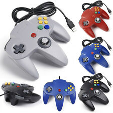 2/4 Pack of Classic Wired Controller Joystick  for Nintendo 64 N64 Game System