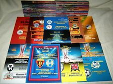 2000 - 2016, UEFA CUPS VARIOUS PROGRAMMES ! UNOFFICIAL ! UPDATED _ JULY 2017 !
