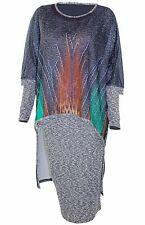 Women Evening Dress - 2-Piece Knit Dress Suit, Special Occasion, Promo, Party