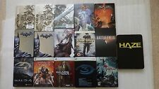 PS3 & XBOX 360 Steelbook ONLY, Batman, Halo, Dead Island,Soul Calibur (NO GAMES)