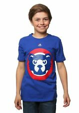 Chicago Cubs Cooperstown Official Logo Kids T-Shirt