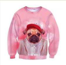 Fashion New Womens/Mens Lovely animals 3D Print Casual Sweatshirt Hoodies GBH12