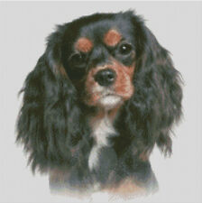 Cross stitch chart, pattern, Cavalier, King Charles, Spaniel, Toy, Kennel Club