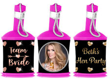 Personalised Photo BRIDE TRIBE Hen Night Popper WRAPPERS ONLY Party Bag Favour
