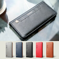 New Magnetic Leather Wallet Card Slots Cover For Sumsung Galaxy S8 S8+ Plus Case